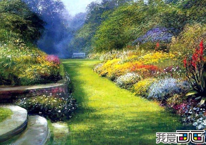 风景油画作品随笔几幅油画图片