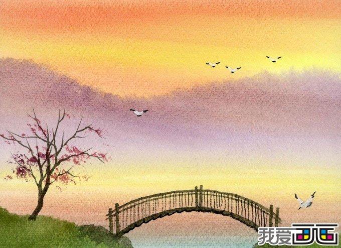 风景油画作品随笔几幅油画图片2