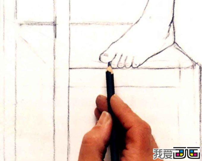新手素描入门教程,学画画
