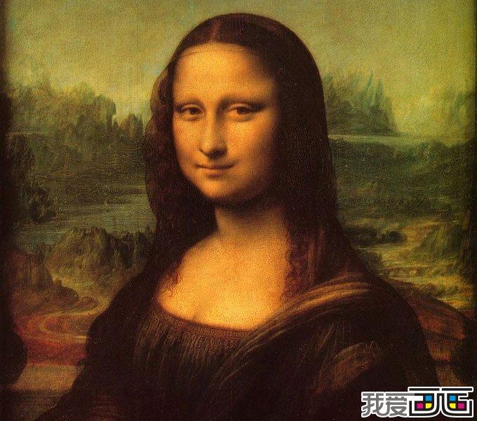 蒙娜丽莎 世界名画赏析 蒙娜丽莎的微笑