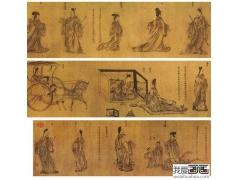 列女传 东晋 顾恺之-中国人物画传世名品赏析