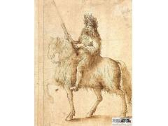 《骑士》-达芬奇素描画作品欣赏