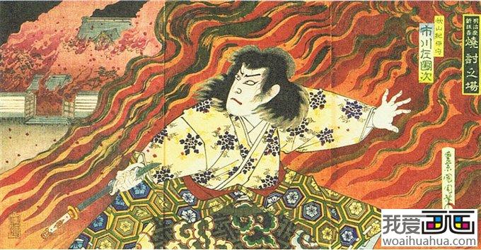 日本浮世绘风俗名画欣赏(3)图片