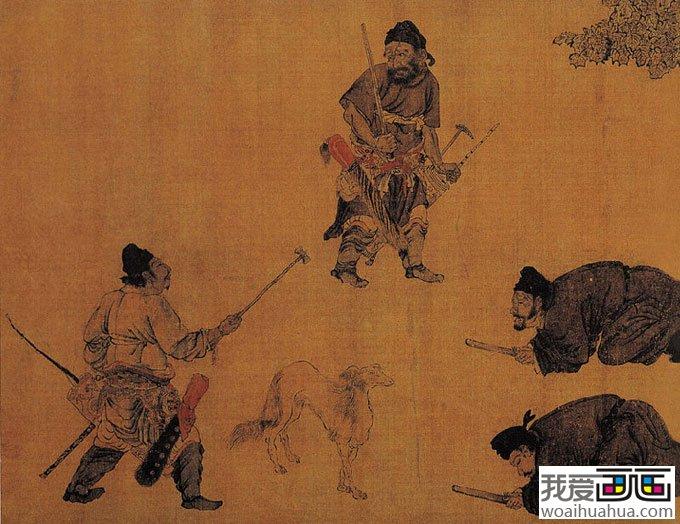中国古代名画赏析 中国古代十大名画 中国古代名画图片