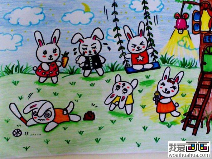 儿童卡通画作品,卡通画图片欣赏