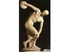 世界著名雕塑欣赏-《掷铁饼者》