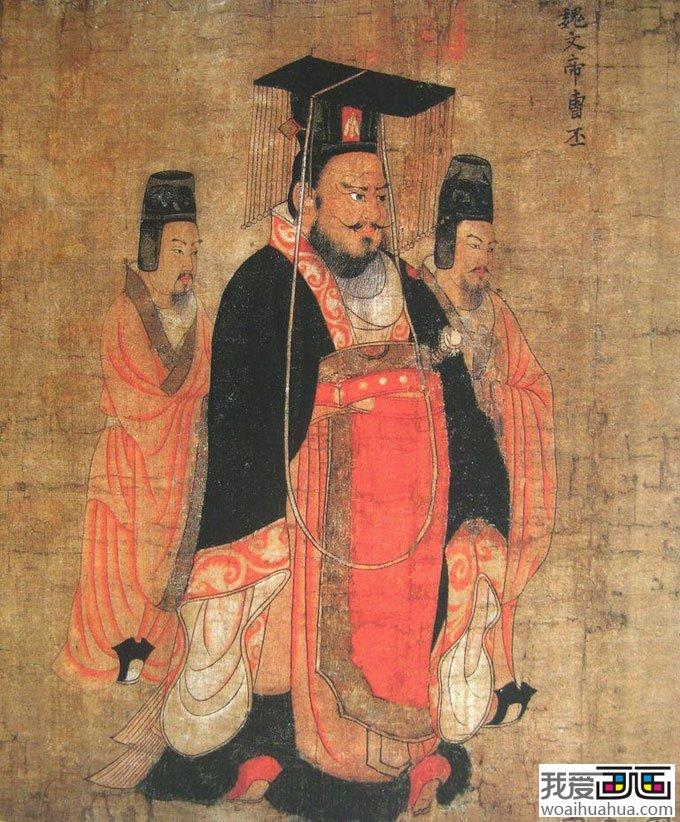阎立本 历代帝王像 高清组图工笔人物名画赏析 10