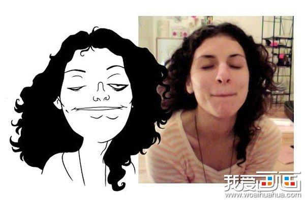 真实人物情景的简笔画超级搞笑图片 组图二 3