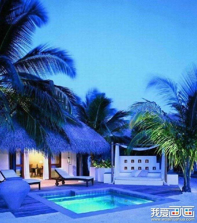 人间仙境-美丽的马尔代夫风景唯美图片高清组图二(2)
