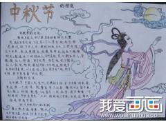 中秋节初中生手抄报图片组图