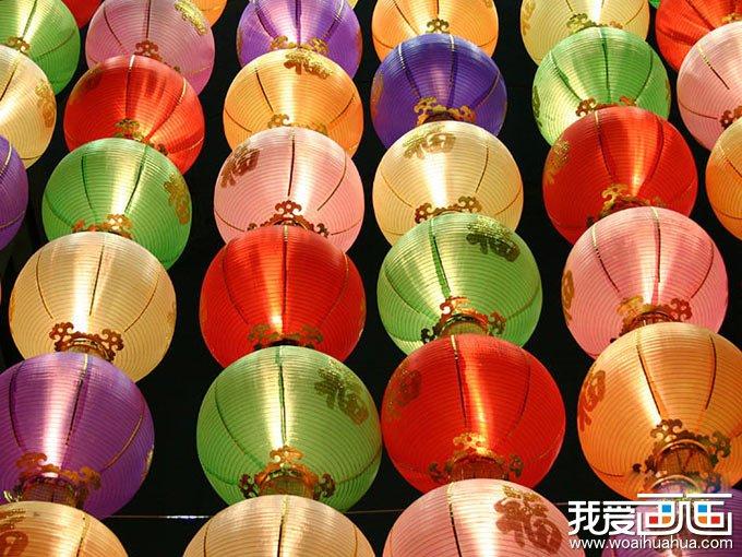 灯笼 画画中秋节