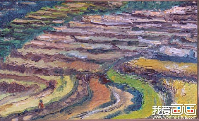 梵高《星空》_梵高最著名油画风景作品