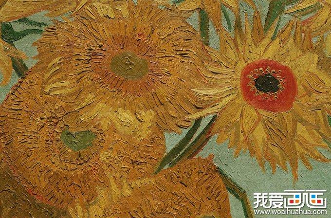 梵高 向日葵 梵高最著名油画作品 向日葵 高清图片赏析 2