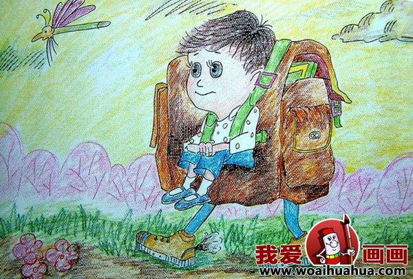 六年级科幻画绘画作品图片大全_六年级科幻画绘画作品图片下载图片