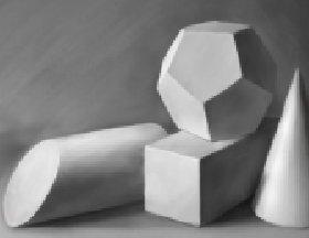 素描几何体-8副石膏几何体素描作品高清图片
