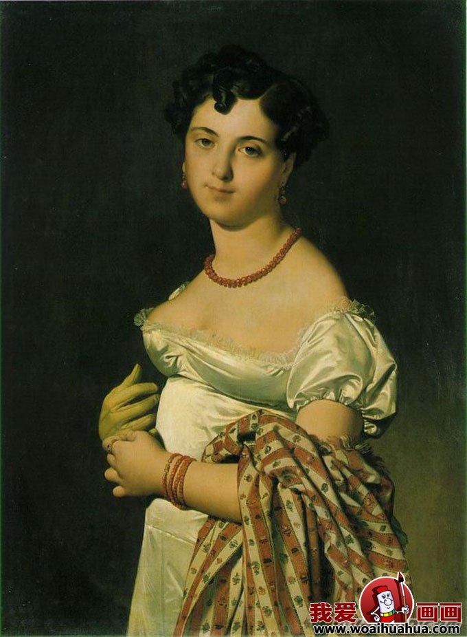 十九副欧洲古典女性人物油画高清图片(4)_人物肖像画