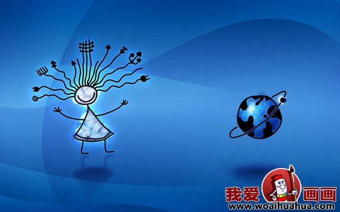 俄罗斯风格简笔儿童卡通插画漫画图片(42p)一(4)