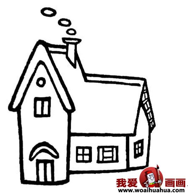 儿童画房子 可爱的小房子简笔画图片大全 4 儿童画教程 学画画 我爱画画网