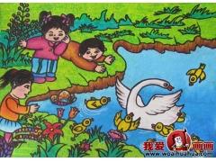 儿童画春天的图片:关于春天的儿童画作品大全