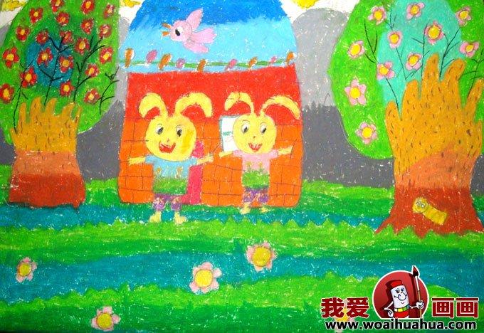 儿童画春天的图片:关于春天的儿童画作品大全(4)