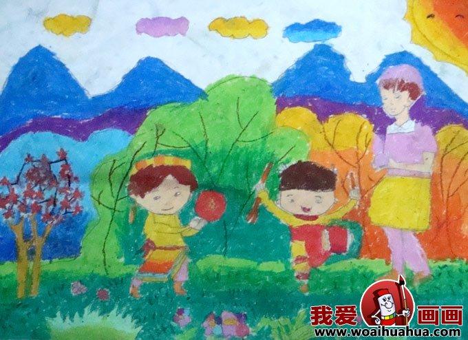 儿童画春天的图片:关于春天的儿童画作品大全(6)