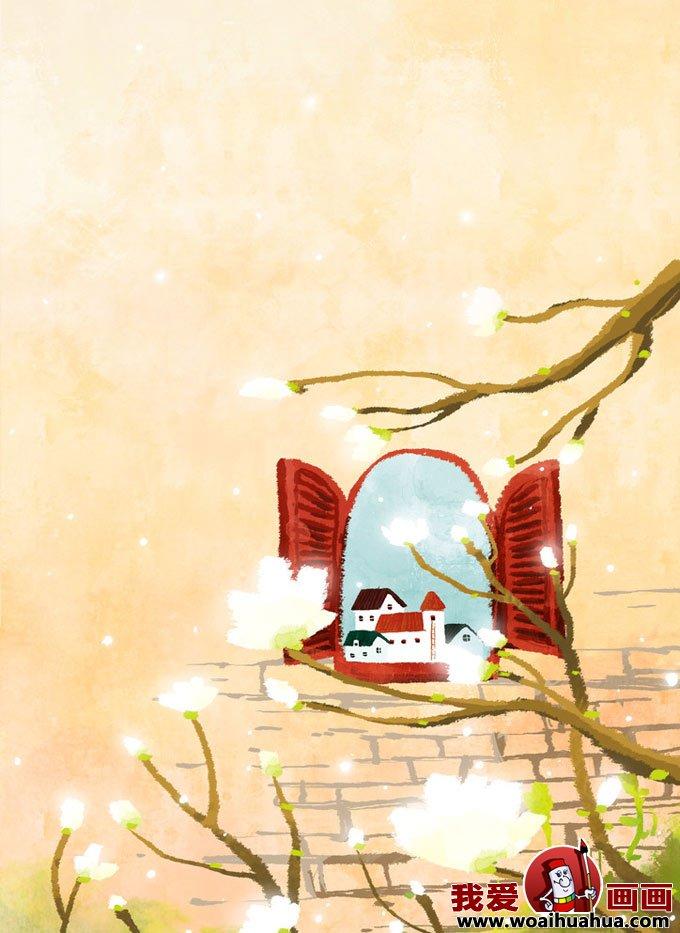 有关春天的卡通装饰画图片大全(2)