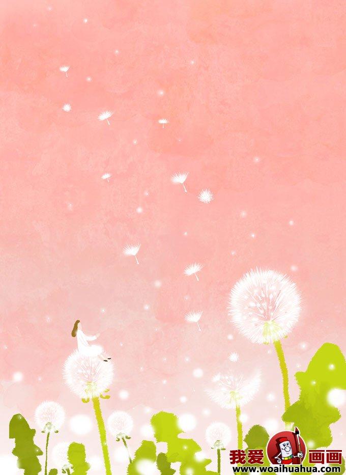 关春天的卡通装饰画图片大全(5)-手绘涂鸦-我爱画画