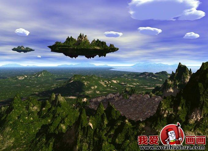 3D科幻画 梦幻太空科幻画图片欣赏