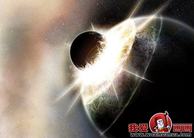 3D科幻画 梦幻太空科幻画图片欣赏 3