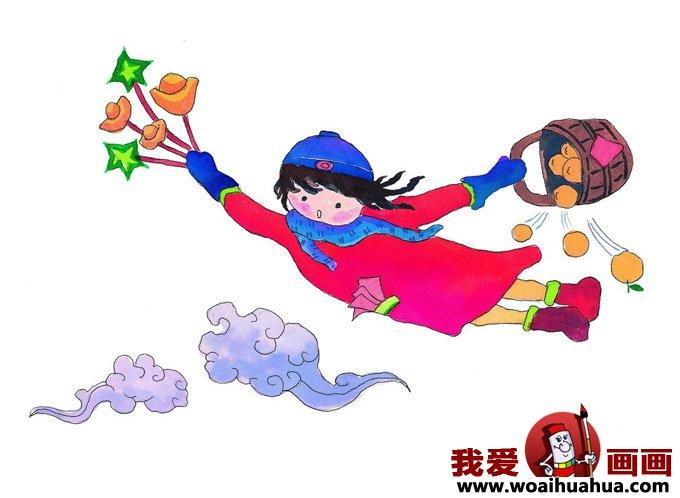 儿童过春节卡通图片大全(9)