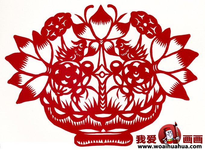 剪纸图案大全 各种民间窗花剪纸图案集锦上(5)