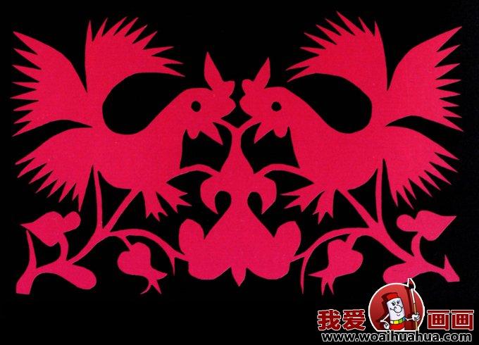 剪纸图案大全 各种民间窗花剪纸图案集锦上(12)