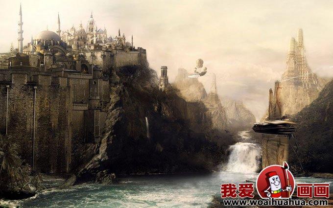 未来世界奇幻画和科幻场景图片精选(8)