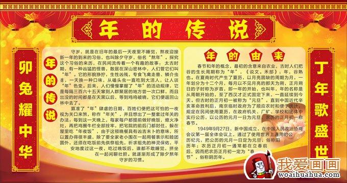 企业春节板报图片集锦 4