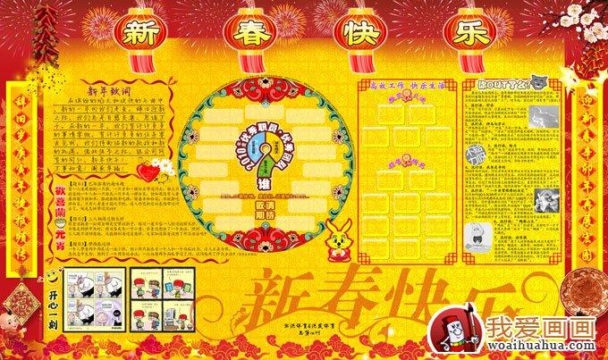 企业春节板报图片集锦 6