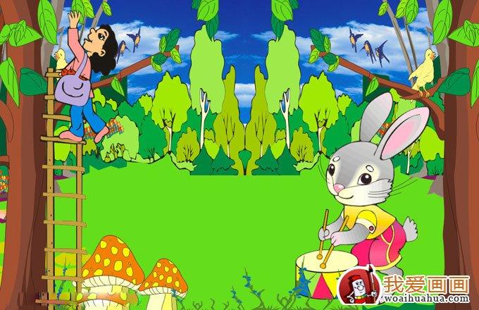 幼儿园装饰画,幼儿园壁画装饰设计图