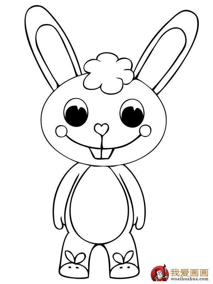 副标题 幼儿简笔画图片大全:卡通小动物小胖猪 副标题 幼儿简笔画图片