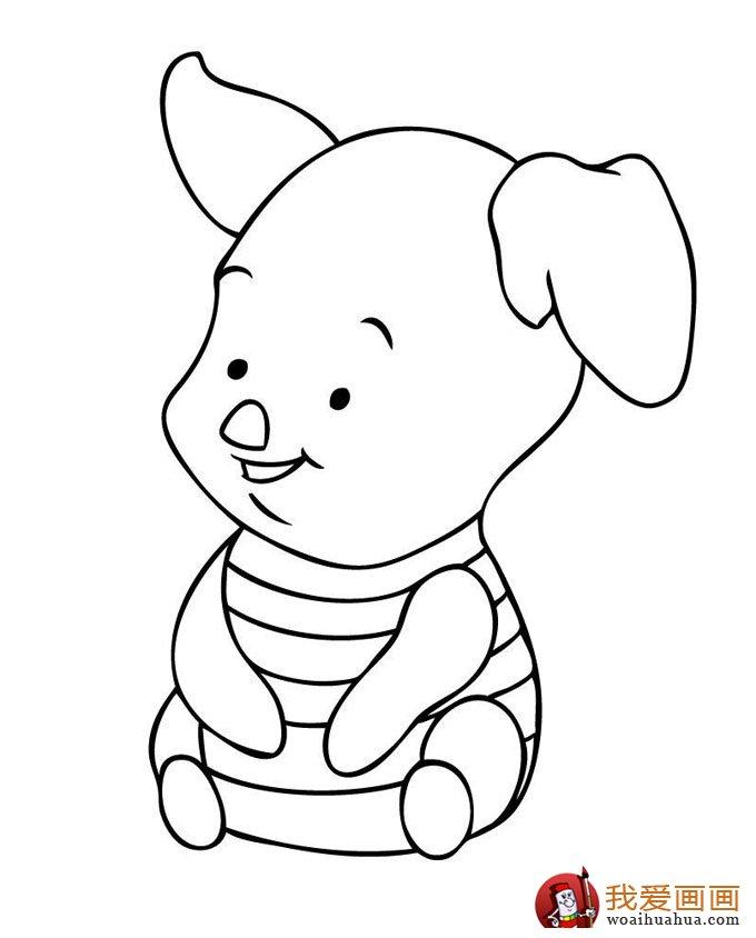 幼儿简笔画图片大全:卡通小动物超可爱(2)