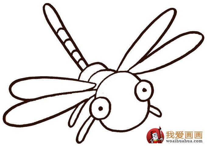 幼儿简笔画图片大全:卡通小动物超可爱(5)_儿童画教程
