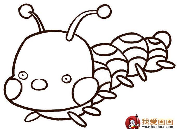 幼儿简笔画图片大全:卡通小动物超可爱(6)