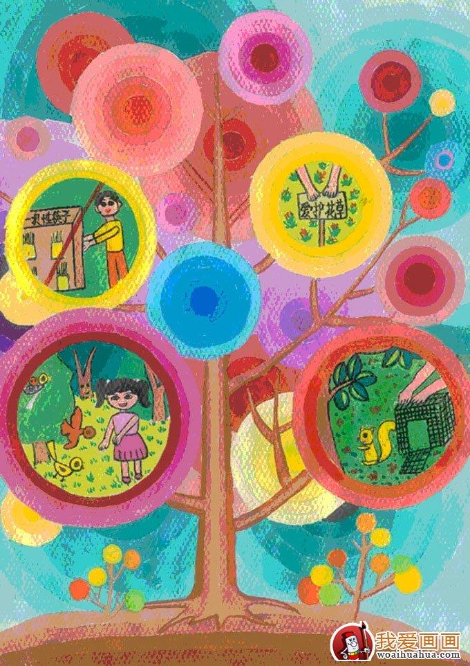低碳环保主题儿童画_低碳环保儿童画图片图片展示_低碳环保儿童画图片相关图片下载