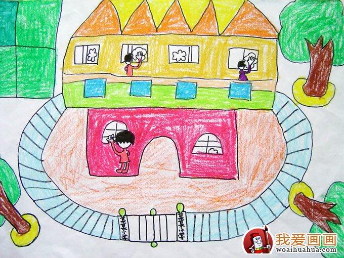 关于环保的画,低碳环保儿童画优秀作品图片欣赏(7)