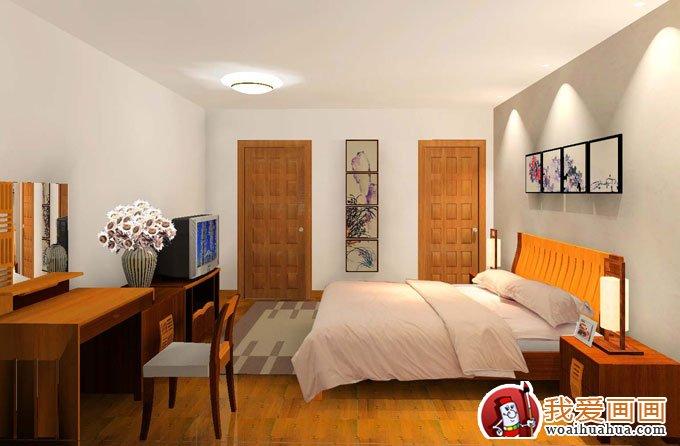 经典卧室手绘墙画效果图,手绘墙图片精选(4)-手绘涂鸦