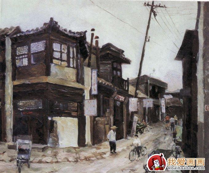 室外风景画色彩写生手绘速写作品(4)