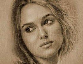 人物铅笔画图片:逼真完美好莱坞明星铅笔素描(下)