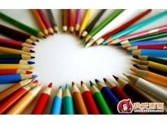 彩色铅笔画技法之彩色铅笔画的画材:彩色铅笔和纸张高清图片