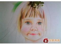 彩色铅笔画的作画步骤和其他的绘画基本是一样的,构图、铅笔高清图片