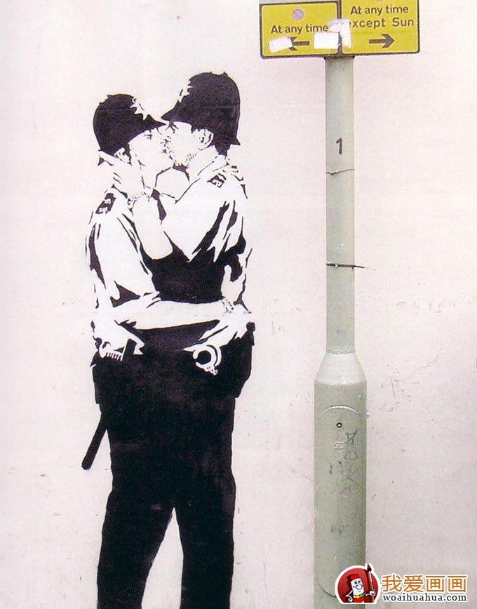 经典街头涂鸦创意设计图片(手绘人物涂鸦7副)(6)