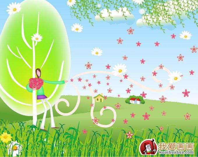 最完美可爱的幼儿园环境布置图片素材(7)_幼儿学画画