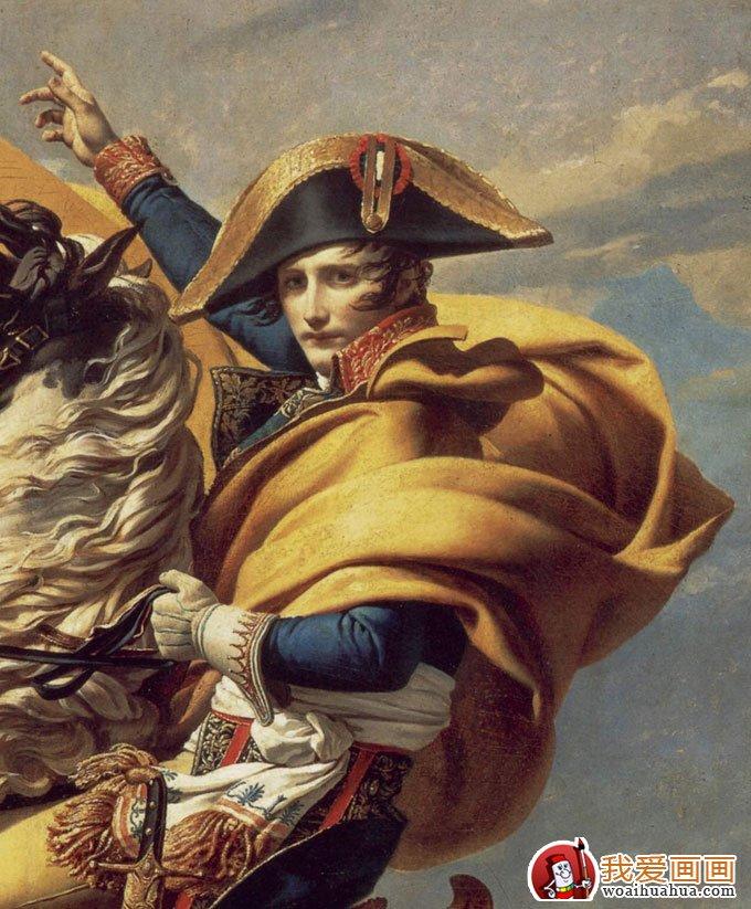 烈马与镇定坚毅的人物形成对比.凡尔赛博物馆绘画部总策划人